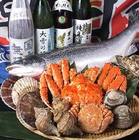 忘新年会に最適!海の幸たっぷりの贅沢なコース