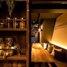 個室 塊肉×農園野菜 Nick&Noojoo 新橋本店の雰囲気1