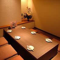 【個室】掘りごたつ個室8名様迄・宴会最大26名様迄