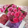 【花束贈ります】池袋での大切なお誕生日、歓送迎会に当店より花束のプレゼントをいたします♪
