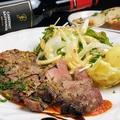 料理メニュー写真国産豚肩ロースのマスタードグリル