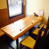 【テーブル個室1】木のぬくもりを感じながらゆっくりと…