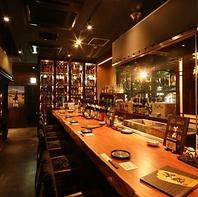 焼酎・梅酒・カクテル・日本酒など種類豊富な品揃え◎