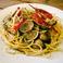 料理メニュー写真アサリとフレッシュトマトのパスタ