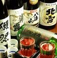 鮮魚や鍋との相性が◎自慢の日本酒の数々揃えております!!