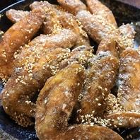 和傘名物「手羽先」タレ・塩のどちらがお好み?