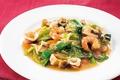 料理メニュー写真魚介類といろいろ野菜の八宝菜
