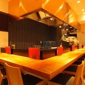鉄板屋 三代目 圭 上野店の雰囲気2