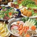 料理メニュー写真鍋6種類!お鍋を食べて温まりませんか??