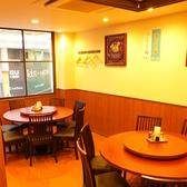 ★2階★中華料理らしい円卓のお席もご用意!広々とした店内ですので、歓迎会・会社宴会・誕生日・家族宴会等、あらゆるシーンにご利用いただけます!飲み放題コース各種取り揃えておりますので、是非お越しください!