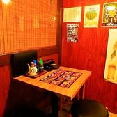 レトロモダンな雰囲気漂うお洒落なテーブル個室
