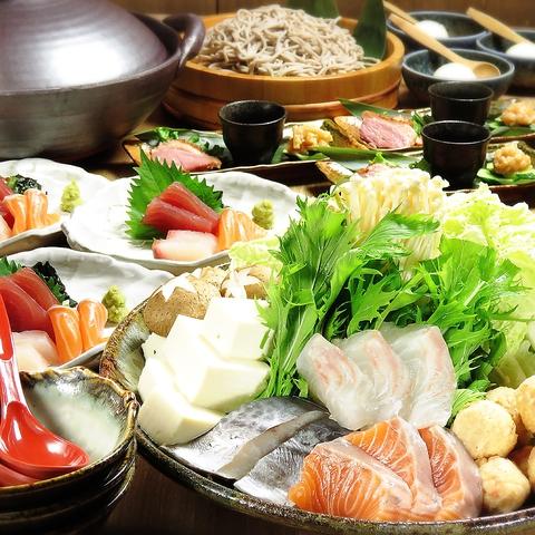 団体ご予約受付中!!山陰直送の鮮魚や、米油で揚げるヘルシーな天ぷらが自慢です