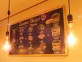カスタマイズできるハンバーガーも♪和牛/貸切/女子会/ワイン/ランチ/カフェ/神楽坂/飯田橋/肉/ハンバーガー/カップル