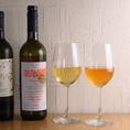 【pescheria KASAIの魅力紹介その2】≪お食事に合うワインもご用意≫ オーナーが厳選して仕入れたこだわりのワインをご用意!グラスでもボトルでも飲むことができます!