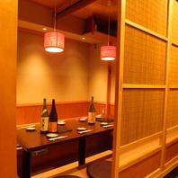 【新宿駅3分】古民家風掘りごたつ個室を完備!