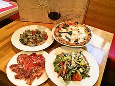 pizzeria forno ピッツェリア フォルノのコース写真