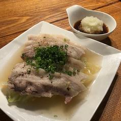豚バラと白菜の蒸焼き