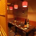 (3,4卓)10名様用の掘りごたつ個室です。ゆっくり足をのばしてくつろぎながらお過ごしいただけるので、飲み会や合コン、女子会など各種ご宴会にオススメです。お得な飲み放題付ご宴会コースは、全6品4,500円~ございます。なお、こちらの個室はご宴会コースのお客様のご利用が優先となります。