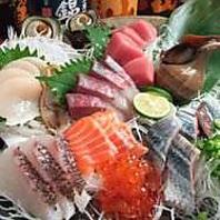 新鮮魚介を使ったメニューを豊富にご用意!