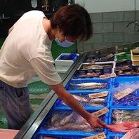 当店の鮮魚は店主が毎朝目利きして買付しています!