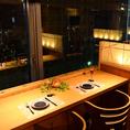 ★夜景を見ながらディナーは大人のデートにおすすめ◎★