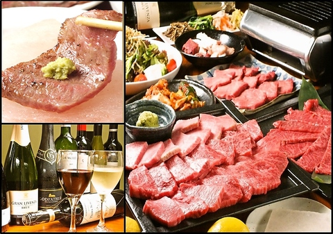 ヒマラヤ岩塩プレートで食べるお肉。女性に支持される『美容と健康』に良い塩を使用!