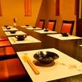 最大12名までテーブル個室を貸切対応可能です。