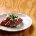料理メニュー写真ネギ塩牛タンの握り寿司