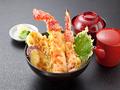 料理メニュー写真【名物】本タラバかに天丼