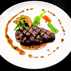 料理メニュー写真うまかステーキ 120グラム