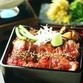料理メニュー写真仙台牛ひつまぶし