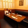 気軽に使えるテーブル個室も人気!