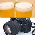 【120分飲み放題】コース料金+3000円(税別)にてご用意します。/【記念写真】プロの写真家に依頼いたしますので、出張費・撮影代などが必要です。