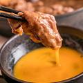 料理メニュー写真すき焼き鍋