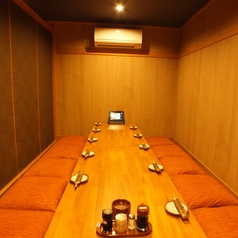 大小個室を個室をご用意。