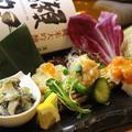 料理メニュー写真日本酒の肴盛り合わせ