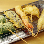 天ぷらをもっと身近に!食べたいものを食べたい分だけ注文出来る串スタイルの天ぷら