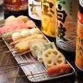 料理メニュー写真おまかせ盛り合わせ(6本)
