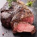 料理メニュー写真京都産 黒毛和牛 熟成ランプ肉(100g)