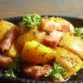料理メニュー写真厚切りベーコンのジャーマンポテト