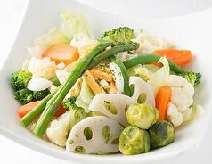 料理メニュー写真温野菜のカリフォルニアサラダvol.3