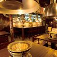 昭和30年代にタイムスリップしたようなレトロな店内!焼肉宴会にぴったり♪
