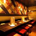 会社宴会や打ち上げ、同窓会等の大型宴会も「北千住 肉寿司 」にお任せください!