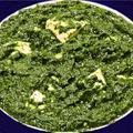 料理メニュー写真パラクパニール Palak Paneer