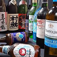 新潟のクラフトビール、地酒、日本産ワインなどなど