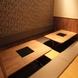 掘りごたつ式個室空間