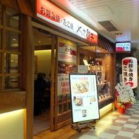 新大阪駅構内に立地しているのでアクセス抜群!