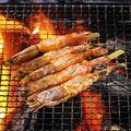 料理メニュー写真赤海老の串焼き
