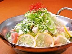 さっぱり!!京赤鶏のネギ塩レモン鍋