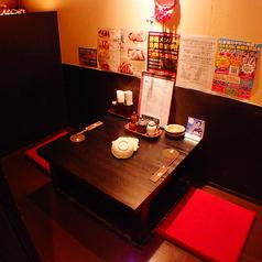 完全個室のプライベート空間です。